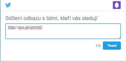 Tweet confirmation